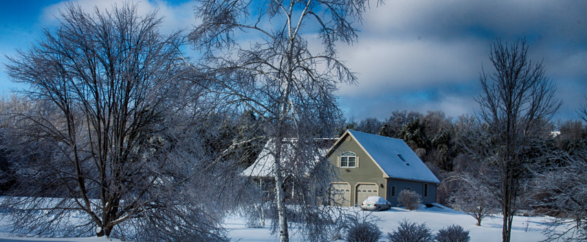 A Vermont Home In Winter