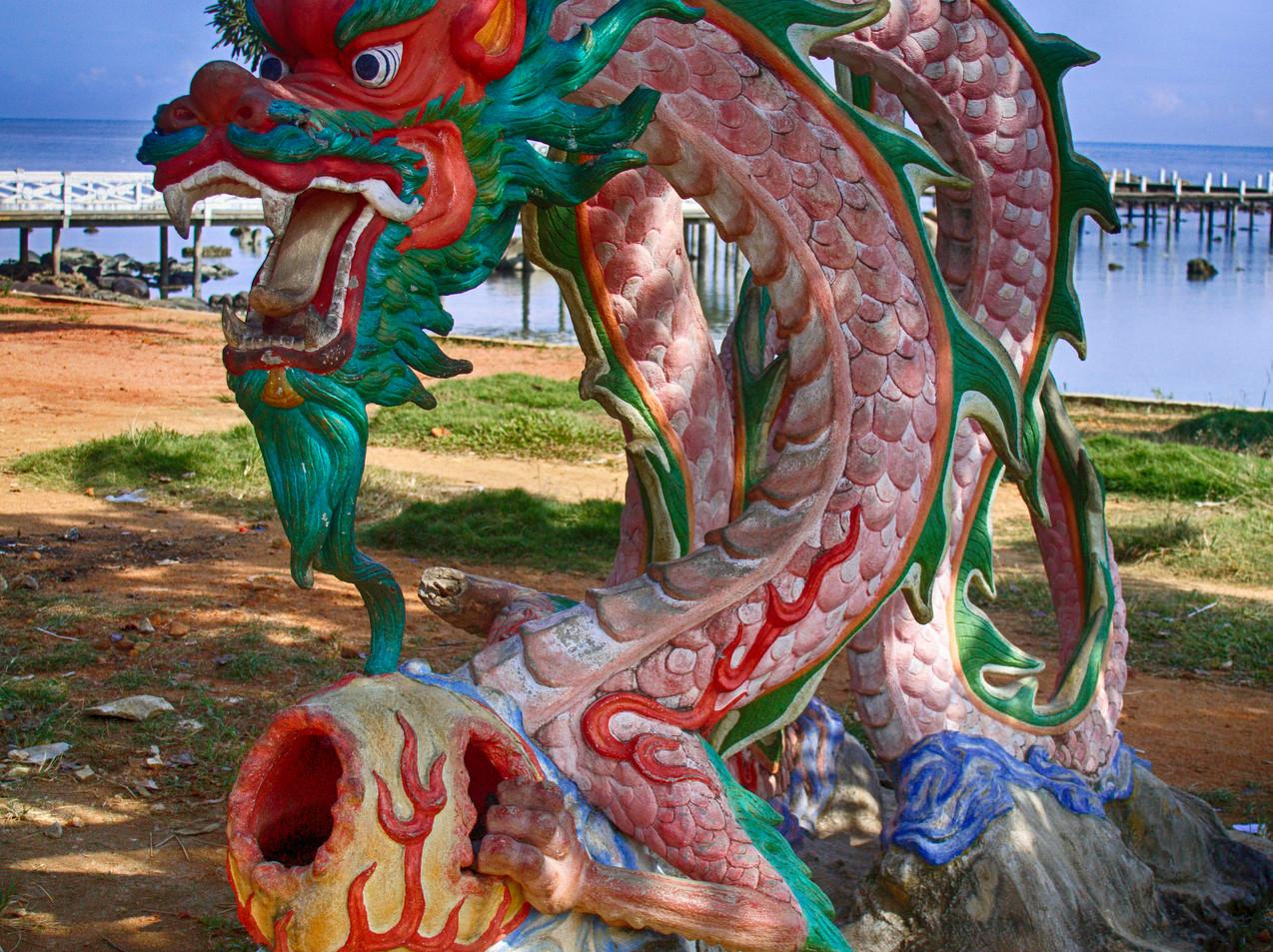 A Sculpture At Sinka Zoo
