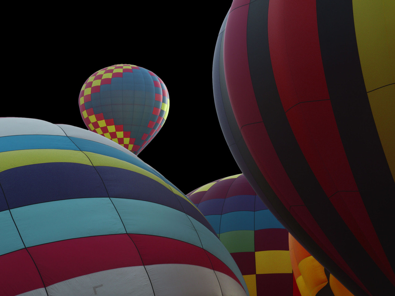 Balloons In The Blackness