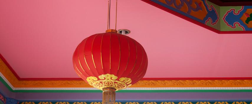 Inside a Pontianak, West Borneo Temple
