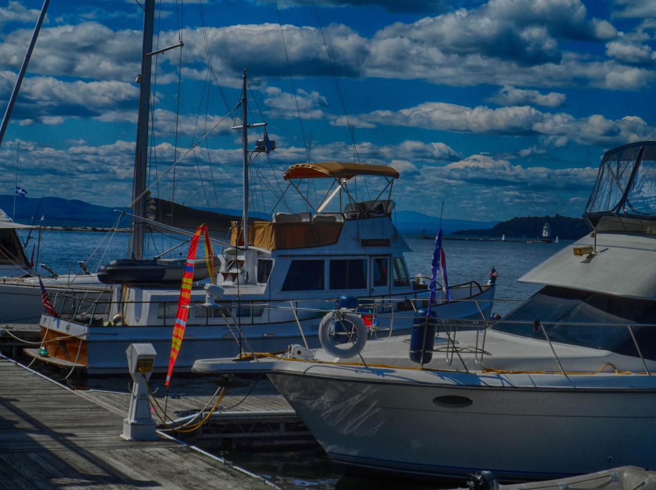 Burlington Waterfront Slips
