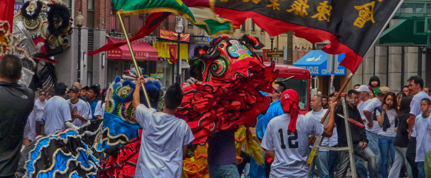 A China Town Celebration