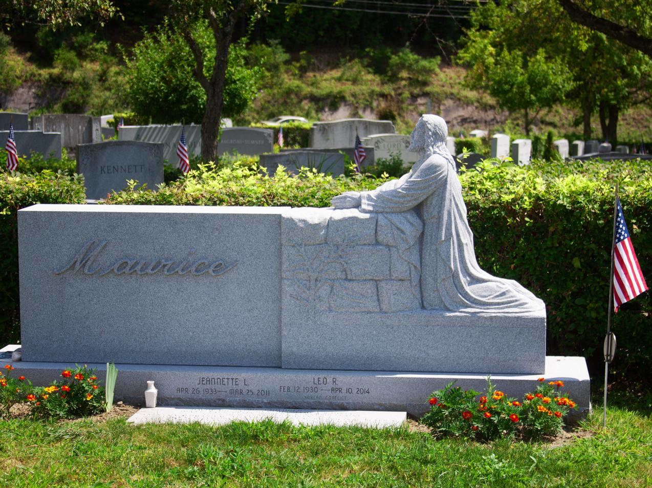 Prayer In Granite