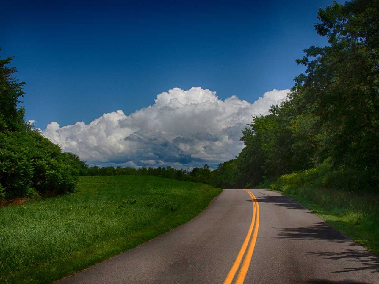 A Vermont Country Road