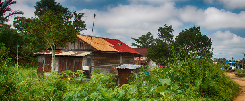 A West Borneo Shack