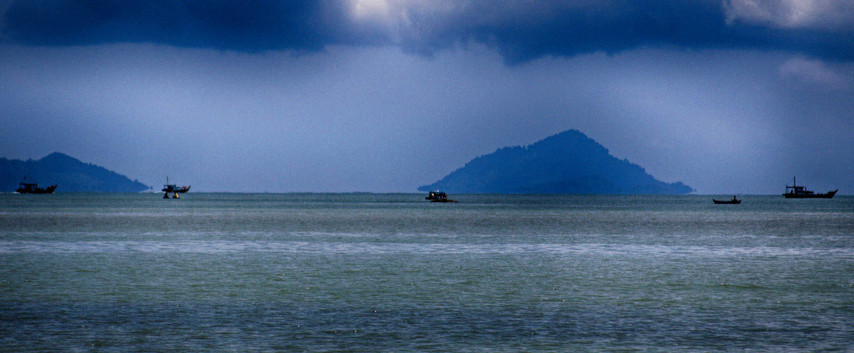 Traffic On The South China Sea