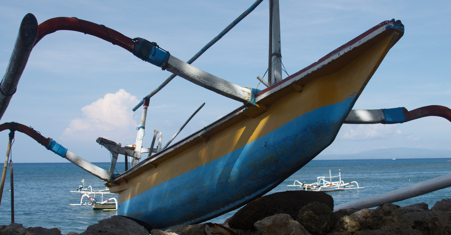 A Balinese Fishing Boat
