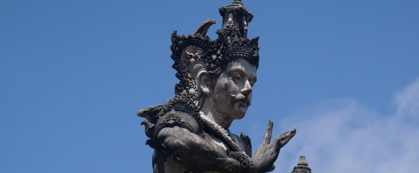 A Balinese God.