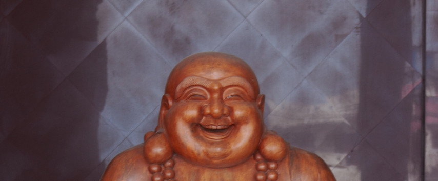 A Smiling Buddah