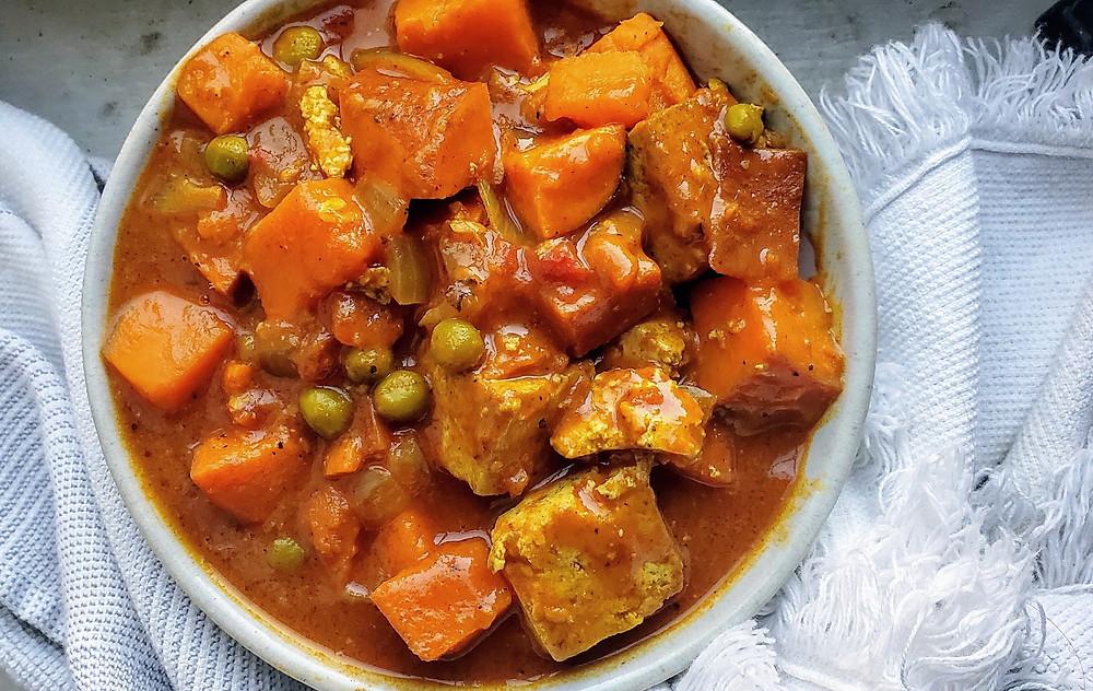 Vegan Tikka Masala with Tofu or Tempeh