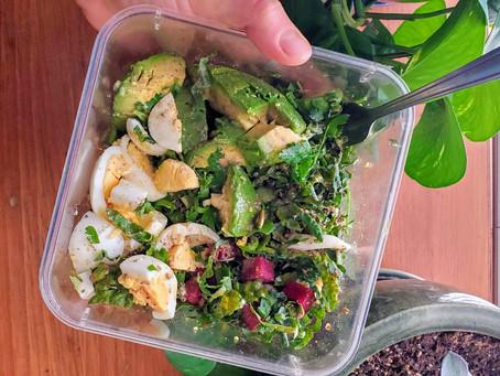 Breakfast Salad (Vegetarian, GF, Paleo, SCD, Low FODMAP)
