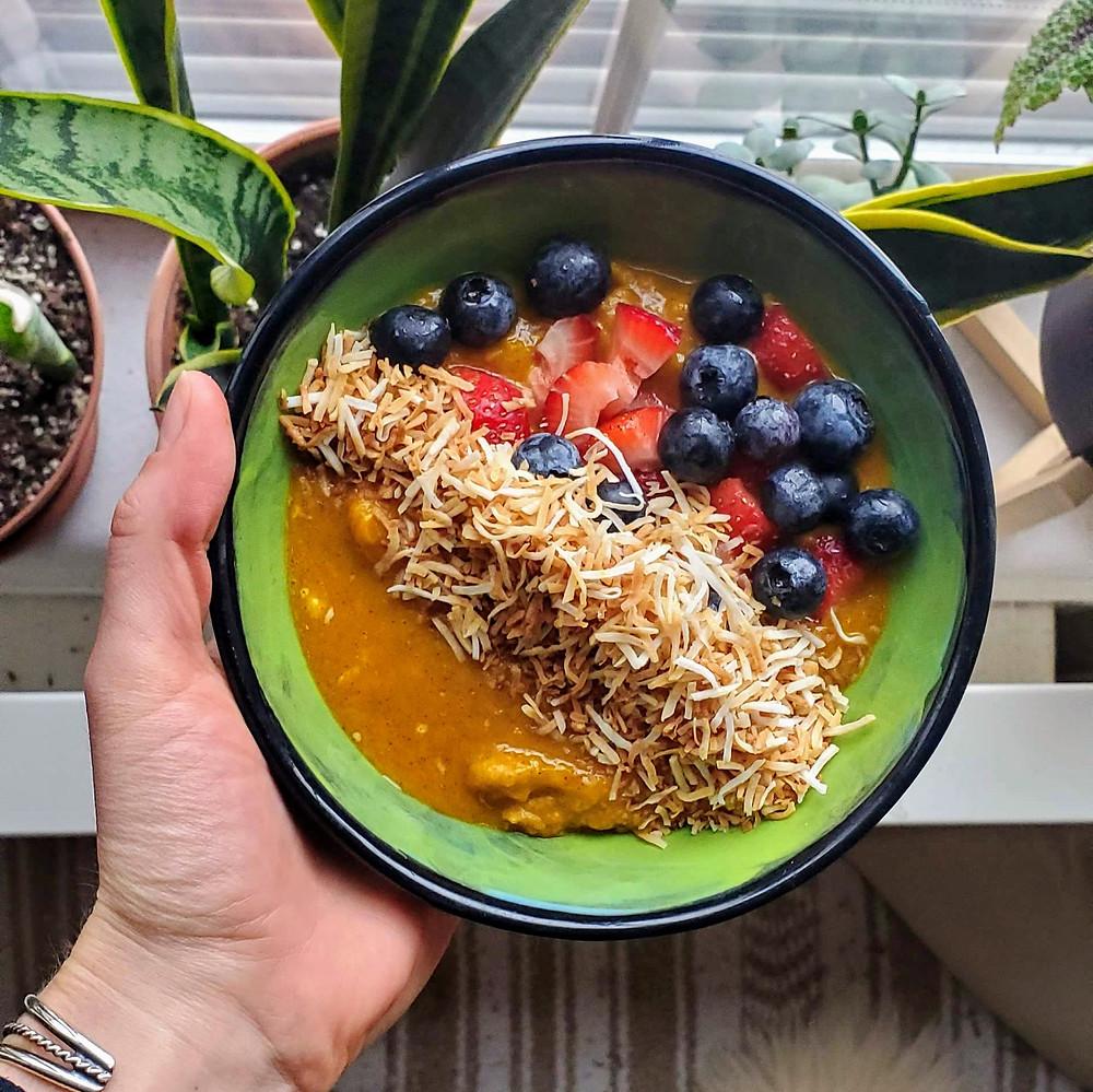 AIP Coconut Squash Porridge