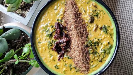 Savory Miso Oatmeal (Vegan, GF)
