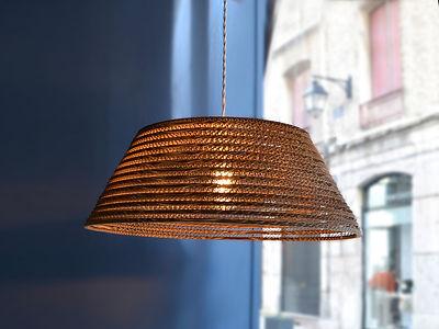 les Artpenteuses Lyon | Ecomodo | lampe carton