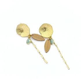 Les Artpenteuses Lyon | Idyllic bijoux | boucles lotus