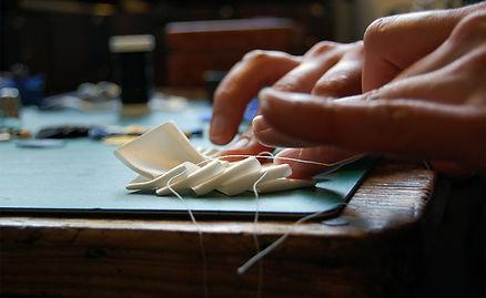 les Artpenteuses Lyon | l'orangerie bijoux | travail