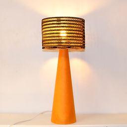lampe de table en carton FUNGHETTO GRAND
