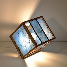 Lampe de table en carton CUBO PLUS - 68