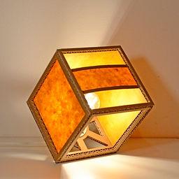 Lampe de table en carton CUBO PLUS   68