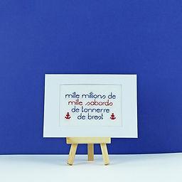 Carte_Postale_Brodée_Main_-_Mille_milli