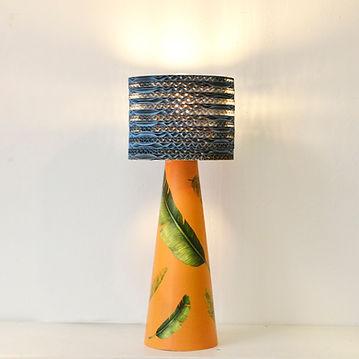 lampe de table en carton FUNGHETTO PETIT