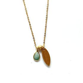 Les Artpenteuses Lyon | Idyllic bijoux | collier Jeanne