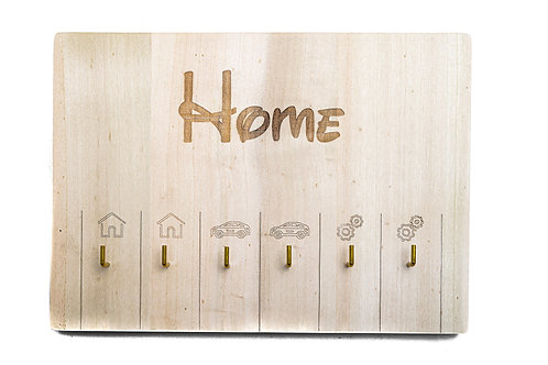 "Porta chiavi da muro ""Home"""