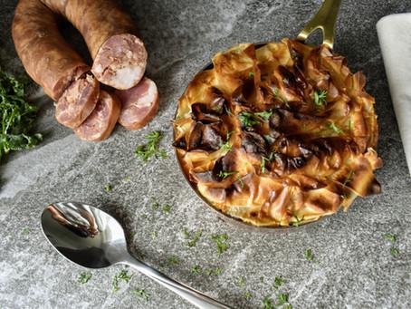 Aloha Links Portuguese Bean Soup Pot Pie