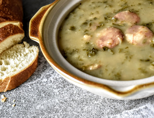 "Caldo Verde ""Portuguese Kale Soup"""