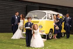 Blue Slimfit Tailcoat with Tweed wedding group