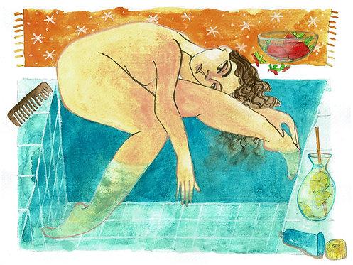 Pool Day Chill Goddess #SummerMOOD
