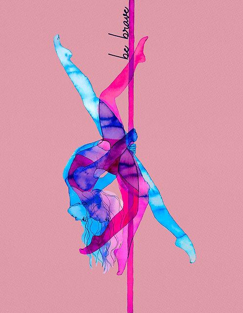 INSTAGRAM Illustration PRINT #MovementOnPaper