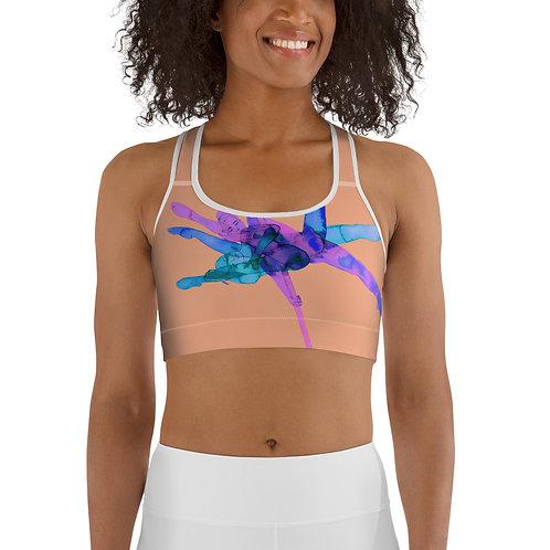 """Self-Care"" Sports bra"
