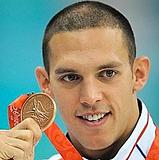 Nageur licencié au Club nautique havrais (CNH) spécialiste de la brasse, né le 29 août 1981 à Saint-Lô (Manche). Médaille d'or au jeux méditerranéens 2005, au championnats d'Europe 2008, au championnats du monde militaire 2009. Ancien élève.