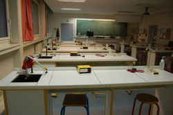 Salle de sciences