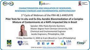 Pilot Tests for In-situ and Ex-Situ Aerobic Bioremediation of Complex Mixture of Contaminants NAPL