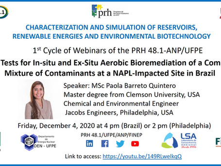 """Pilot Tests for In-situ and Ex-Situ Aerobic Bioremediation of Complex Mixture of Contaminants NAPL"""