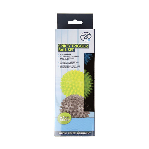 Spikey Trigger Ball Trio