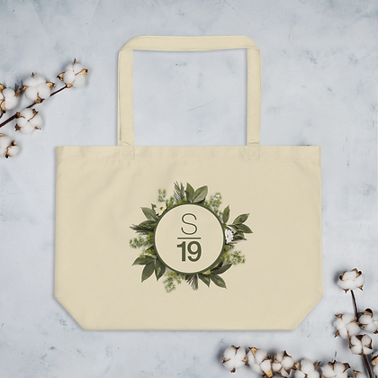 Studio 19 Go Green Large organic tote bag