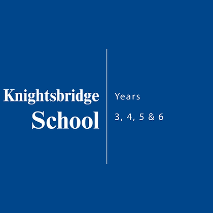 Knightsbridge School | Years 3, 4, 5 & 6