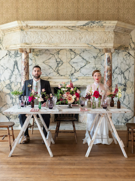 Balcombe Place William Morris Inspired Shoot
