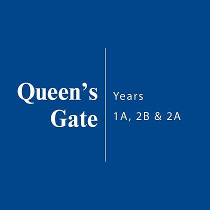 Queen's Gate | Years 1A, 2B & 2A