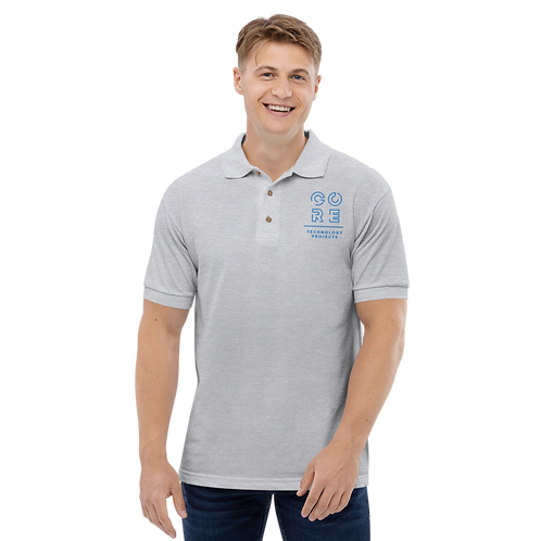 CORE Technology Projects - Embroidered Polo Shirt