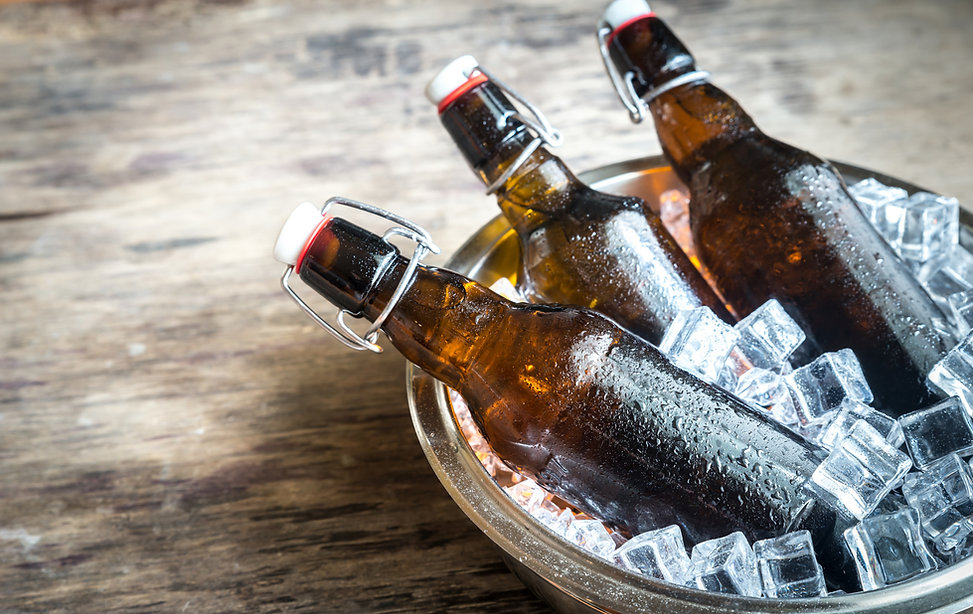 bottles-of-beer-in-ice-cubes-PZVHZB3.jpg