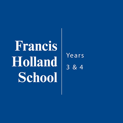Francis Holland School | Years 3 & 4
