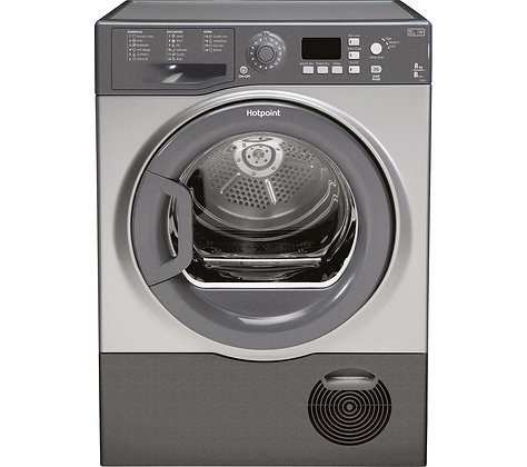 HOTPOINT Aquarius FTCF87BGG Condenser Tumble Dryer