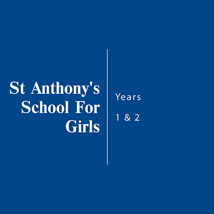 St Anthony's School For Girls | Year 1 & 2