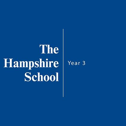The Hampshire School | Year 3
