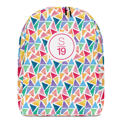 Studio 19 Colourful Minimalist Backpack