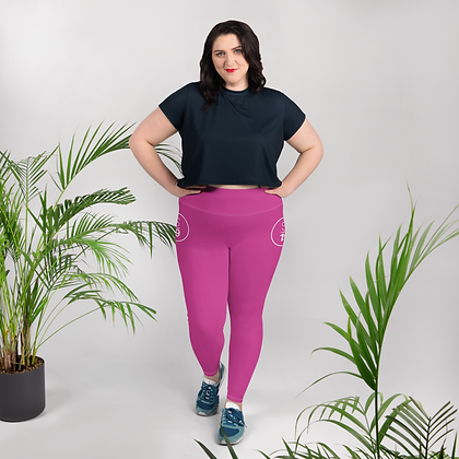 Studio 19 All-Over Print Plus Size Leggings